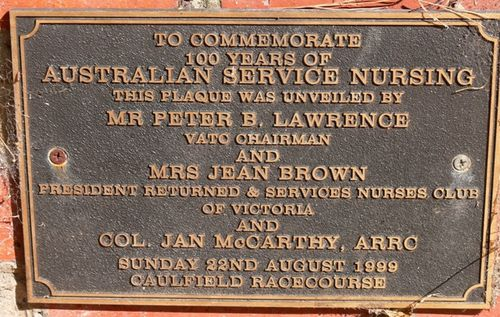 100 Years of Australian Service Nursing : 10-March-2013