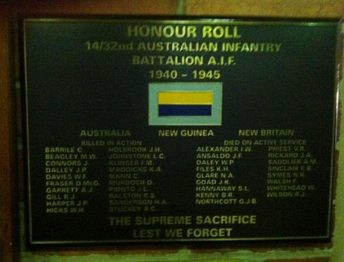 14 / 32nd Battalion : 12-July-2012