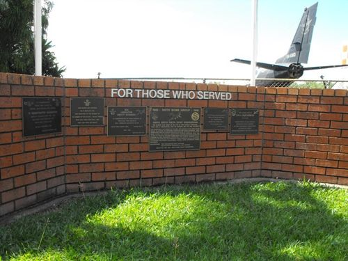 For Those Who Served- 18 N.E.I. Plaque / May 2013