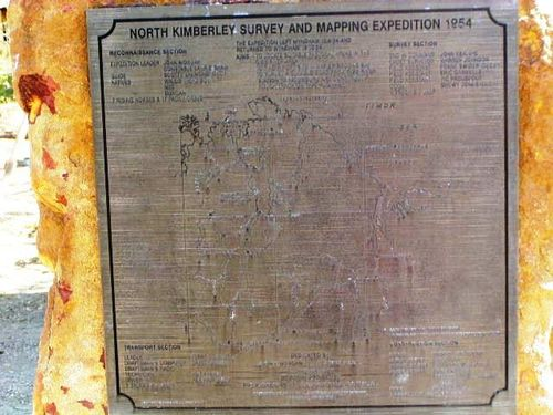 1954 Survey + Mapping Plaque