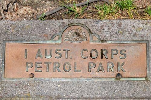 1 Australian Corps Petrol Park : 12-November-2011