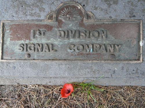1st Division Signal Company : 23-September-2011