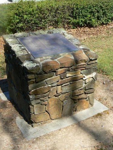 23 Machine Gun Battalion Monument