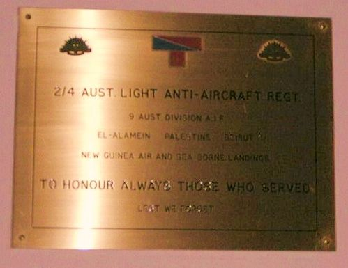 2 4 Light Anti Aircraft Regt
