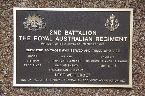2nd Battalion Royal Australian Regiment : 04-March-2013