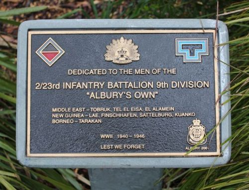 2nd / 23rd Australian Infantry Battalion : 14-October-2012