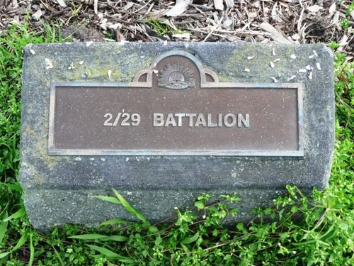 2nd / 29th Battalion : 16-September-2012