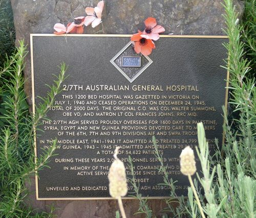 2nd / 7th Australian General Hospital : 8-March-2012