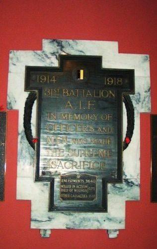 31st Battalion AIF