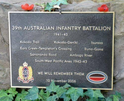 39th Australian Infantry Battalion : 4-March-2012