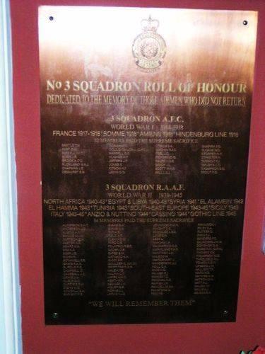 3 Squadron AFC + 3 Squadron RAAF