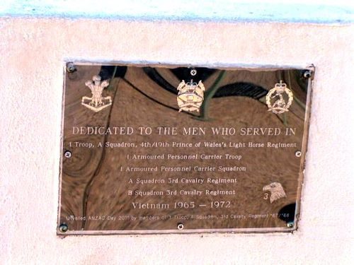 3 Troop A Squadron Plaque