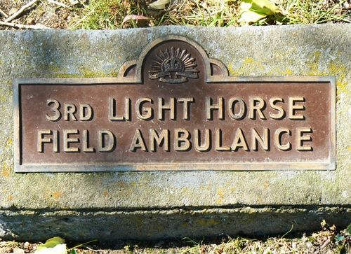 3rd Light Horse Field Ambulance : 22-September-2011
