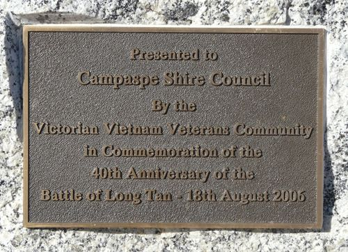 40th Anniversary of the Battle of Long Tan : 14-May-2012