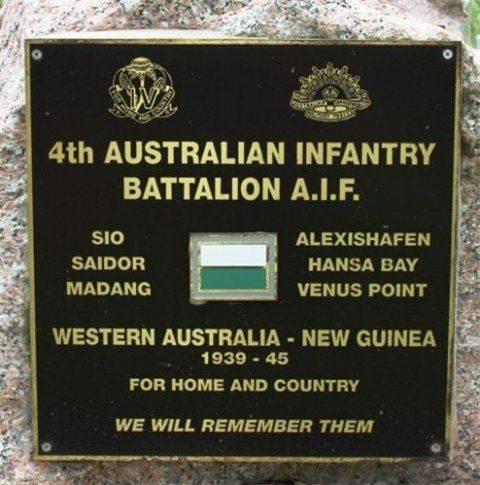 4th Australian Infantry Battalion : December 2013
