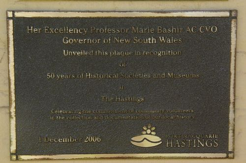 50 Years Plaque : June 2014