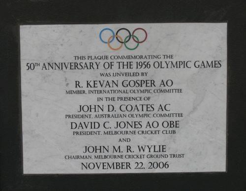 50th Anniversary 1956 Olympics : 14-November-2011