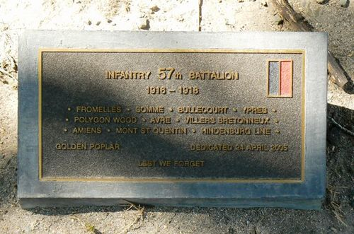 57th Battalion : 21-September-2011