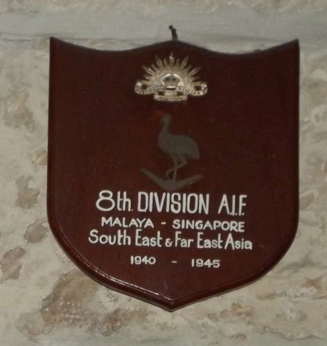 8th Division A.I.F : March 2014