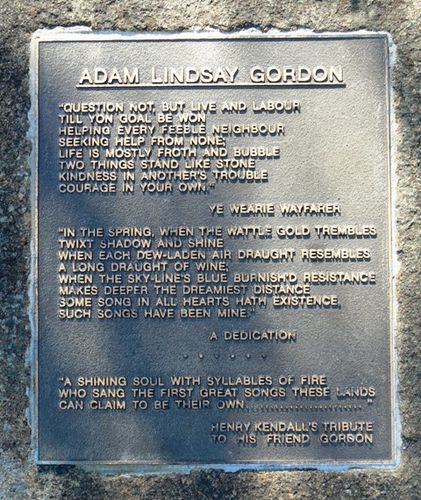 Adam Lindsay Gordon : 17-September-2012