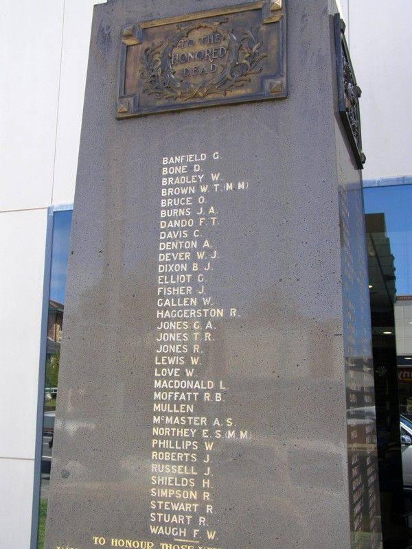 War Memorial 5 : 07-September-2014