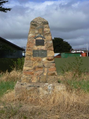 Addington Pioneers Monument