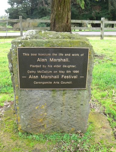 Alan Marshall : 17-July-2011