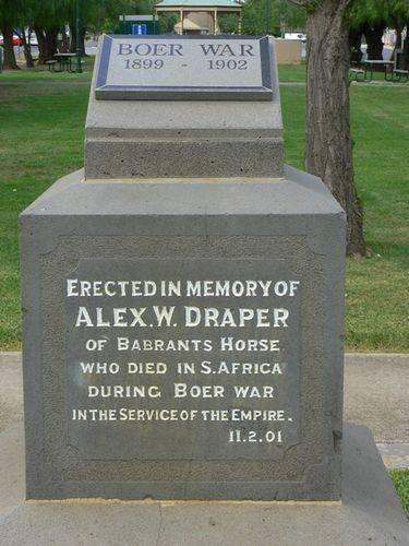 Alexander Draper Memorial