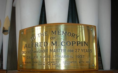 Alfred M. Coppin : 27-March-2012