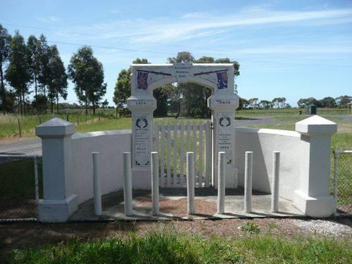 Allendale East Arch Gates : 24-November-2012