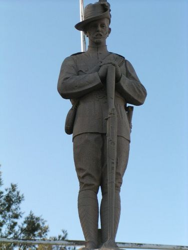 Allora Boer War Memorial Digger