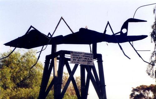 Ant Sculpture Broken Hill