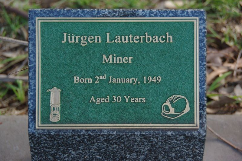 Lauterbach Plaque:20-July-2015
