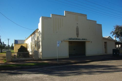 Ariah Park Memorial Hall
