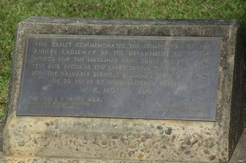 Audley Causeway Completion Plaque : 19-02-2014