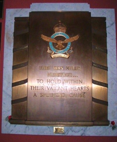 Aust Flying Corps + RAAF Plaque
