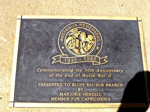 Australia Remembers Plaque : 14-10-2013