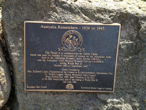 Australia Remembers : Darley Camp