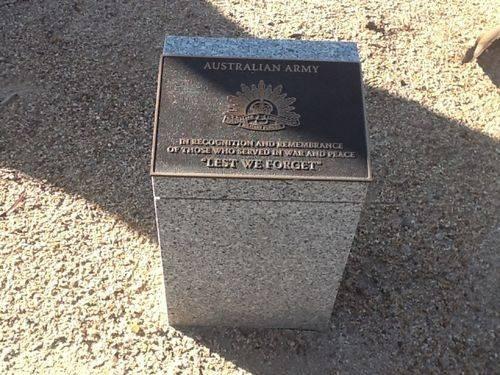 Australian Army Plaque : 16-11-2013