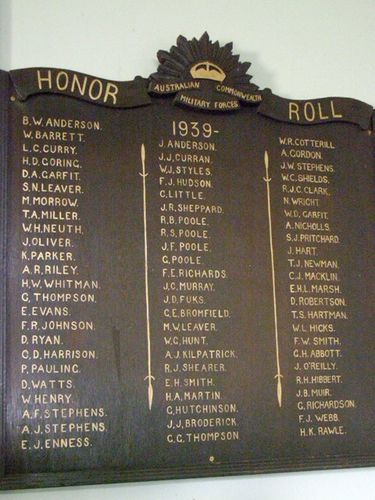 ACMF Honour Roll : 27-03-2014