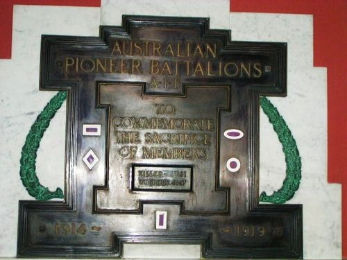 Australian Pioneers Battalion Memorial