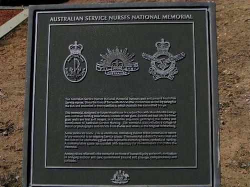 Service Nurses Plaque : 2007