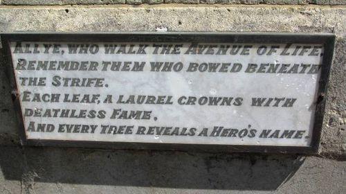 Cenotaph : 25-October-2011