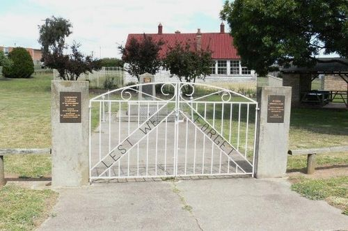 Avoca Memorial Gates