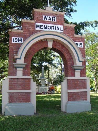 Ayr War Arch
