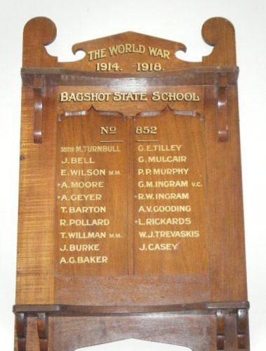 Bagshot State School  Honour Roll : 07-March-2013