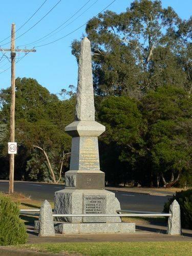 Balmoral War Memorial