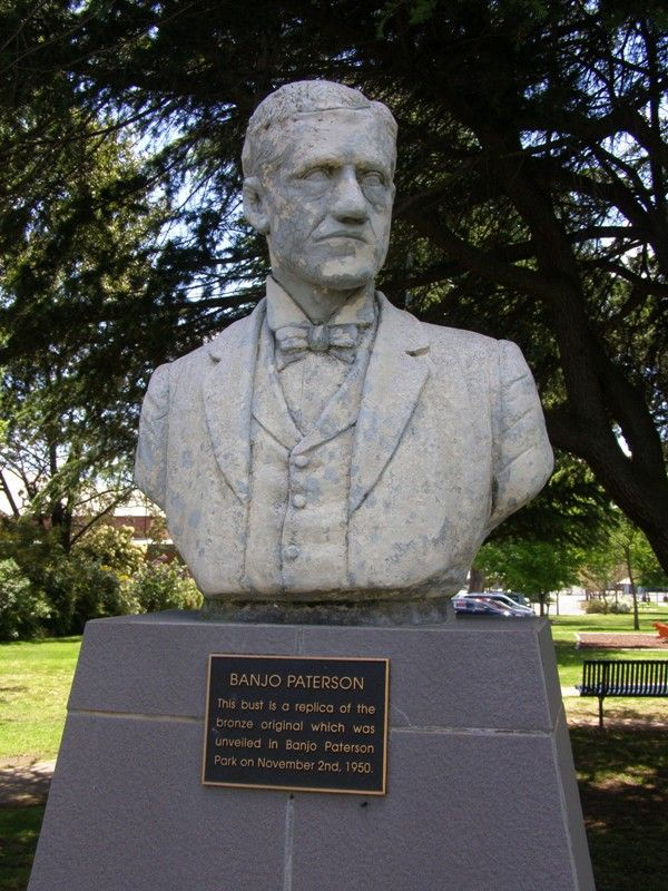 Banjo Paterson Sculpture : 16-October-2014