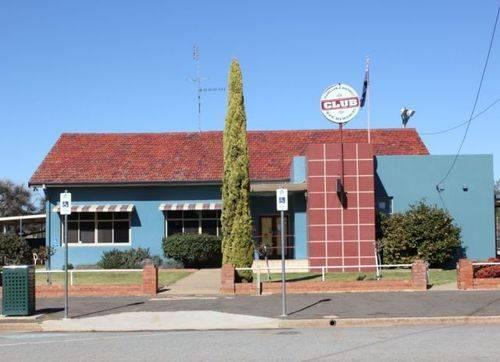 Barellan and District War Memorial Club : 06-December-2012