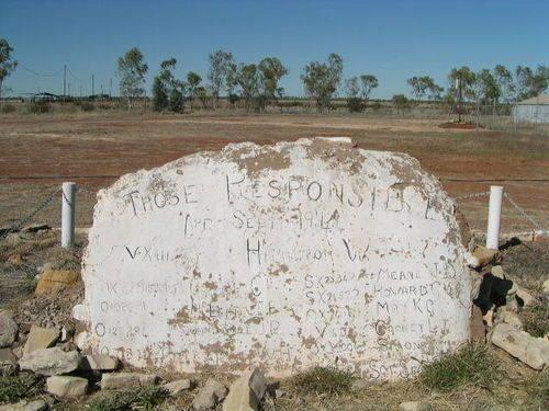 Barkly Highway Memorial